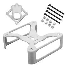 Copy FEICHAO 145mm Wheelbase Carbon Fiber Rack Plate Frame Kit for Ti145 3inch FPV Racing Drone Quadcopter