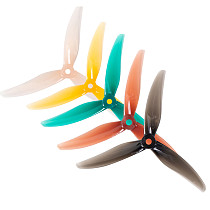 2pairs Gemfan 3Blade Propellers F3 F4 Freestyle 3 5.1x3x3 Freestyle 4 5.1x3.6x3 PC Props Gemfan Racing FPV Drone