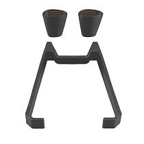 ShenStar 3D Printed Extender Landing Gear Height Increase 10MM Battery Protector Gimbal Guard Leg Foot Protector for DJI FPV