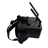 JMT RHD430  Googles 5.8G 4.3 inch video glasses 40CH 800*480 pixel height LCD screen suitable for FPV four-axis lens