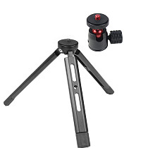 FEICHAO Tripod Selfie Stick Tabletop Camera Stabilizer with Tripod Ball Head Lock Knob for Camera Photography Live Streaming