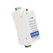 USR-DR502-E Wide Range Cost-effective 4G LTE Cat 1 Modem Support RS485 Serial Port Built-in 35 mm DIN Rail Seat with MQTT/SSL