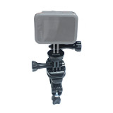 FEICHAO Bicycle Handlebar Mount Bike Motorcycle Bracket Holder 360 Rotating with 1/4 Adapter for 25-30mm Bar