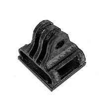ShenStar 3D Printed Soft Material 180 Degree Camera Mount for Gopro Action Camera Protection Frame Accessories FPV Racing Drone