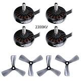 4PCS IFlight XING 2205 2300KV 3200KV 4-6S Brushless Motor For protek35 3.5 inch propeller For FPV Racing Drone