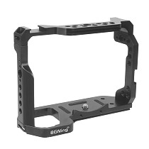 BGNing Aluminum Cage for Sony A7R3 Form-fitting Frame for A7M3 Protective Border for A73 Case Rig for A9 DSLR Camera with Handle Grip