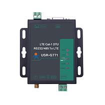 USR-G771-E LTE CAT 1 Cellular Modem Support LTE and GSM TCP UDP Transparent Transmission RS232 RS485 Interfaces w/ SIM Card Slot