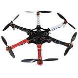 QWinOut F550  550mm  unassembled Frame Kit RC Simonk 30A ESC With 920KV Motor 1045 Propeller for DIY RC Hexacopter Drone