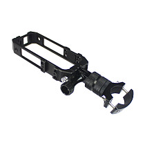FEICHAO CNC Panoramic Camera Cage Protection Frame with Bicycle Clip Compatible with Insta360 one x2