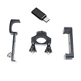 FEICHAO Mobile Phone Bracket with Bicycle Clip/Type-C Interface Adapter For DJI OSMO Pocket Stablizer Portable Handheld Gimbal