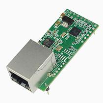 New USR-TCP232-T2 V1.2 V1.1 Tiny Serial Ethernet Converter Module Pin Type UART TTL to Ethernet TCPIP Module Support DHCP DNS