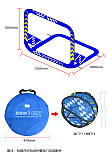 LDARC 1200mm Flying Folding Racing Gate Door for Freestyle RC FPV Tinywhoop Cinewhoop Drone Practice Game Competition DIY