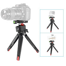 FEICHAO Universal Tabletop Mini Tripod Camera Stand Holder with Ball Head for Smartphone for Canon Nikon Sony DSLR Mirrorless Camcorder