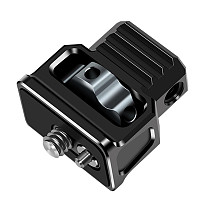 FEICHAO Aluminum Alloy 1/4 Interface Adapter Mount Holder with Arri Locating Pins for Magic Arm SLR Camera Accessories 10KG Load