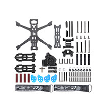 iFlight Chimera3 165mm Carbon Fiber 3inch Ultra Light Frame Kits 3mm Arm for RC FPV Racing Freestyle Digital HD Drones Parts 42g