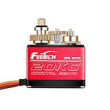 FEETECH 7.4V 20kg 25KG 35kg Servo 180 Degree Digital Aluminum Medium Shell Servo With 25T Arm For 1/8 1/10 RC Cars
