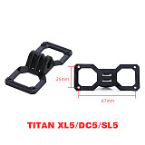 Feichao Shock Absorbing Base Stand Mount For Ifight GoPro 6/7/8/9 Universal XL/DC5/SL5 Frame For RC DIY FPV Racing Drone