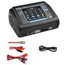 HTRC 150W AC/DC 10A Balance Charger T150 Smart Discharger w/ Touch Screen for Lilon/LiPo/LiFe/LiHV/NiCd/NiMH/PB Battery Charger