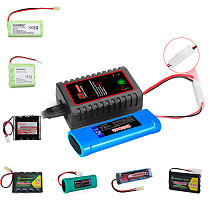 HTRC N8- Nimh -Nicd Battery Charger 110-240V 2A 20W AC 2s-8s NiMH/NICD Smart Balance Charger For RC Drone Airplane Car Boat Toys