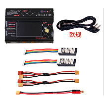 HTRC HT206 RC Balance Charger AC/DC DUO 200W*2 20A*2 Dual Port 4.3  Color LCD Touch Screen for Lilon/LiPo/LiFe/LiHV Battery