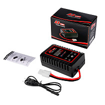 HTRC A3 20W Compact Charger with Tamiya-Compatible Plug RC Charger for RC Model Car Boat Toys 2-8s NiMH Nicd Battery Charger