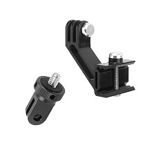 FEICHAO 2in1  Mount for 20MM Rail Mount Adapter Tripod Adapter 1/4  Screw Quick-Release Base for OSMO Action Camera