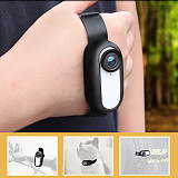Sunnylife Adjustable Length 128-225mm Silicone Case Suitable For Insta360 /GO2 Strap / Wrist Strap Backpack Bike / Camera Expansion Accessories