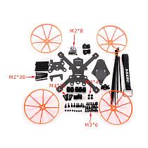 JMT 135mm 3 inch Carbon Fiber Frame Kit for Drones FPV CADDX VISTA  HD FPV Racing Freestyle 3S 4S 1406 1408 1506 1507