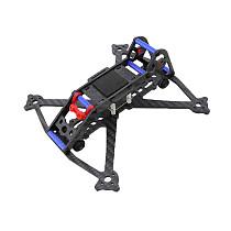 JMT Mini Acrobrat 163 Quadcopter Frame Kit 163mm 3 Inch Compatible with 3030 3045 / Runcam Propeller Mini Split Camera