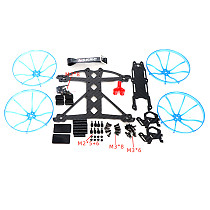 JMT Carbon Fiber Frame Kit 147mm 3 inch VISTA Four-Axis for Drones FPV CADDX HD FPV 3S 4S 14061506 1507