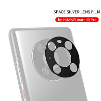 FCLUO Metal Phone Camera Protective Case, Metal Back Lens Protector for huawei Mate40 Pro, Mount Ring for Mate 40 Pro