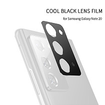 FCLUO Metal Back Camera Lens Protective Case, Ultra Back Screen Protector for Samsung Galaxy Note 20