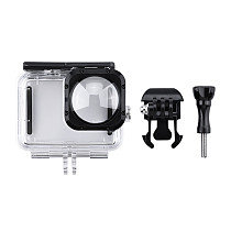 FEICHAO Diving Protective Case for Gopro 9 Max Lens Wide Angle Lens Waterproof Action Camera Accessory for 40M