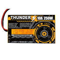 THUNDER 250W 10A DC Balance Charger Discharger for LiPo NiCd PB Battery