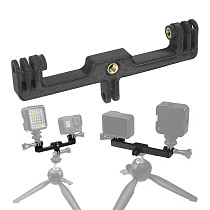 FEICHAO LED Photography Light Connection Bracket 3D Printed PLA Compatible with Insta360 ONE R, GOPRO, DJI Osmo Camera