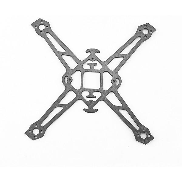 Emax Nanohawk X Spare Parts - Carbon Fiber Frame Bottom Plate For FPV Racing Drone RC Airplane Quadcopter Spare Parts