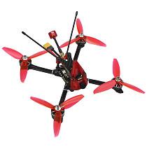 FEICHAO  Ti210  210mm 5inch PNP BNF RTF FPV Racing Drone RC Quadcopter 3-4S  With 1200TVL Camera  2306 2400KV  Motor