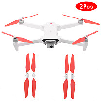 SHENSTAR PC Quick Release Propellers White Red Paddles for FIMI X8SE Drone Replacement Blade Folding Props Spare Parts Accessory Wing Fan