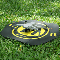 Sunnylife PU Waterproof Stable Hexagonal Double Sided Portable Fast-fold Landing Pad Outdoor Parking Apron for DJI FPV / Air 2S