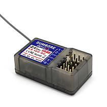 DUMBORC X6YC / X6YCG 2.4G 6CH Radio Control System Receiver with Gyro for DUMBORC X6 Radio Transmitter