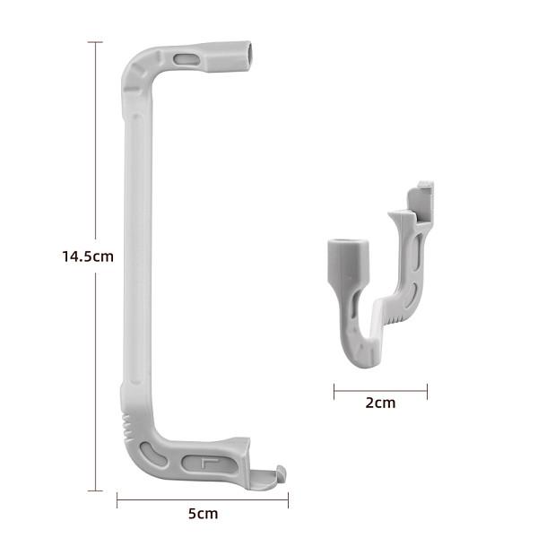 ShenStar Extended Landing Gear for DJI Mavic Mini 2 Drone Portable Support Leg Stabilizer Protector for Mini 2/SE Accessories