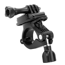 FEICHAO Bicycle Handlebar Mount Bike Motorcycle Bracket Holder 360 Rotating for Gopro MAX 9 8 7 Action Camera Smartphone Stand Clamp