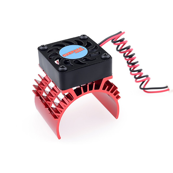 Surpass Hobby 30mm Double Motor Cooling Fan Heat Sink 21000RPM for HSP RC Car 540 550 3650 3660 3670 3674 Series for 1/10 Car
