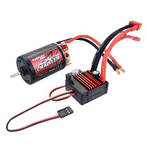 Surpass Hobby Waterproof 5-Slot 550 10T 12T 16T 20T Motor 80A ESC for TRAXXAS Cars For 1/10 1/12 RC Car Boat