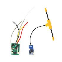 Jumper R1 V2 Mini Receiver Compatible with FrSky D16 XM & Protocol RXSR SBUS For Jumper T-Lite T18 T16 T12 T8SG Updated