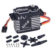 JX Servo BLS-HV7132MG 32KG 7.4V 0.07sec Steel Gear High Precision Digital Brushless For RC Car Robot Airplane Drone
