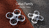 BETAFPV Cetus Pro Brushless Quadcopter BNF FPV Racing Drone Support For HD VR02 Goggles Transmitter Frsky D8 Protocol RC Toys