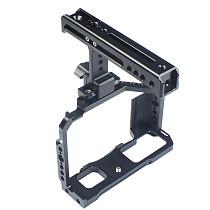 FEICHAO X-T4 Camera Rig Full Cage for FUJIFILM Fuji XT4 Formfitting Combo w/ Top Handle Grip Cold Shoe Mount Mutiful Thread Tripod Holes