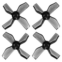 5Pairs Gemfan 31mm 4-Blade PC Propeller 0.8mm Shaft For Beta65S Lite Brushed Frame RC Micro Drone Replacement