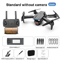 FEICHAO E99pro Folding Quadcopter 4K HD Aerial Remote Control Drone 2.4G 4 Channels With 5AA Battery